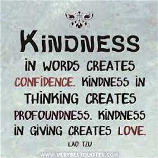 Kindness is a Blessing