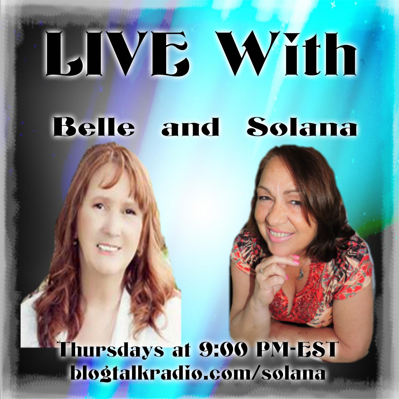 Live with Belle and Solana