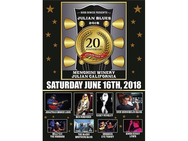Big Blend Radio: 20th Annual Julian California Blues Bash
