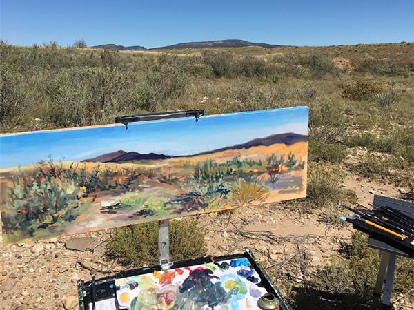 Big Blend Radio: Art at Fort Union National Monument