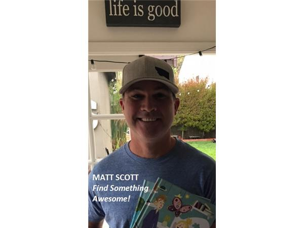 Big Blend Radio: Matt Scott - Author of Find Something Awesome Books for Kids