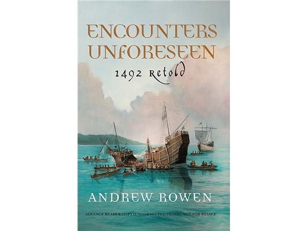 Big Blend Radio: Author Andrew Rowen - Christopher Columbus